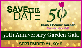 Save-the-Date: 50th Anniversary Garden Gala, September 21, 2019