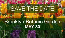 Save-the-Date: Trip to Brooklyn Botanic Garden, May 30, 2019