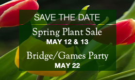 Save-the-Date: Spring Plant Sale